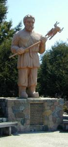 More photos of the statue in Menahga, MN